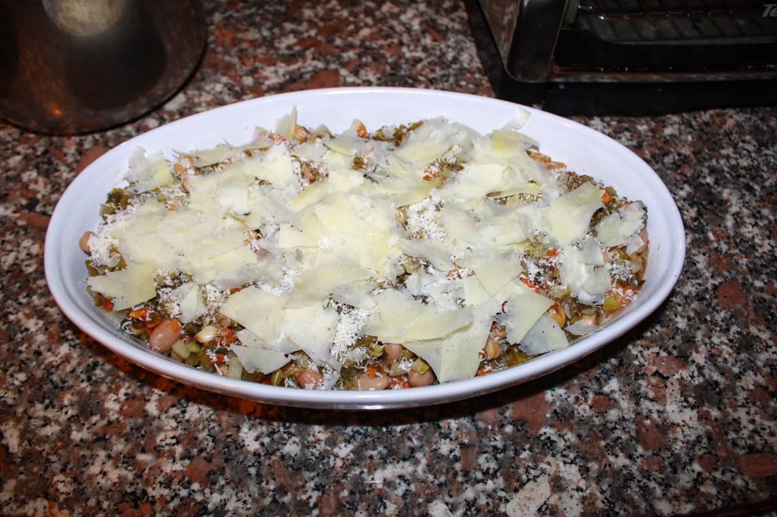 zuppa verdure gratinata