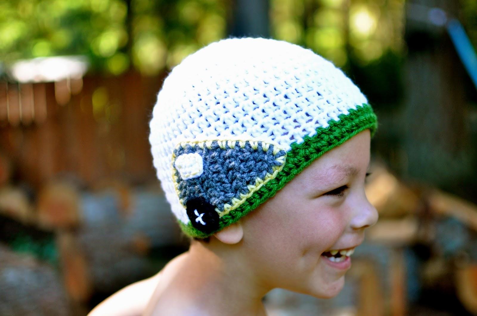 Just be happy!: Caravan Appliqué {Free Crochet Pattern}