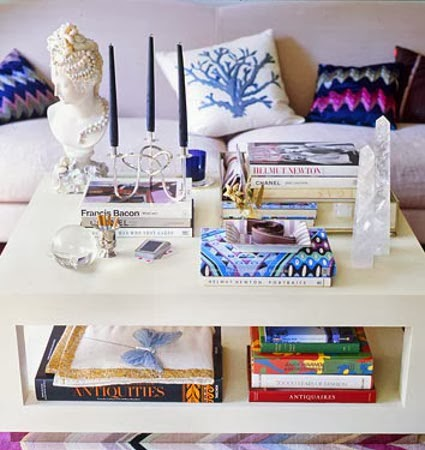 Ideas to decorate your coffee table my little sweet house - How to decorate a coffee can ...