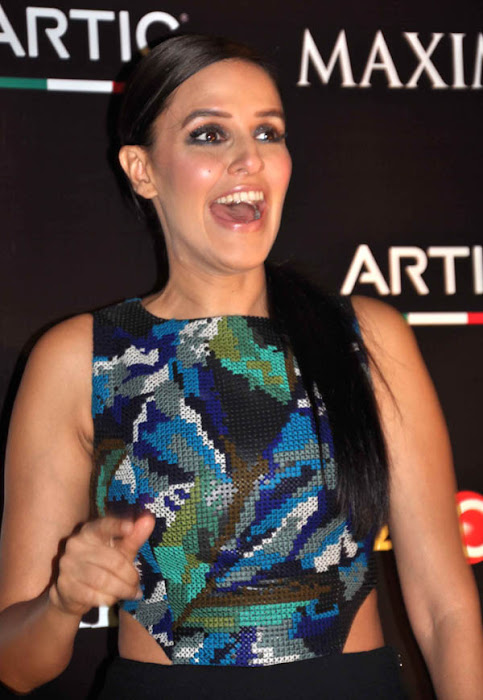 neha dhupia at maxim artic vodka party unseen pics
