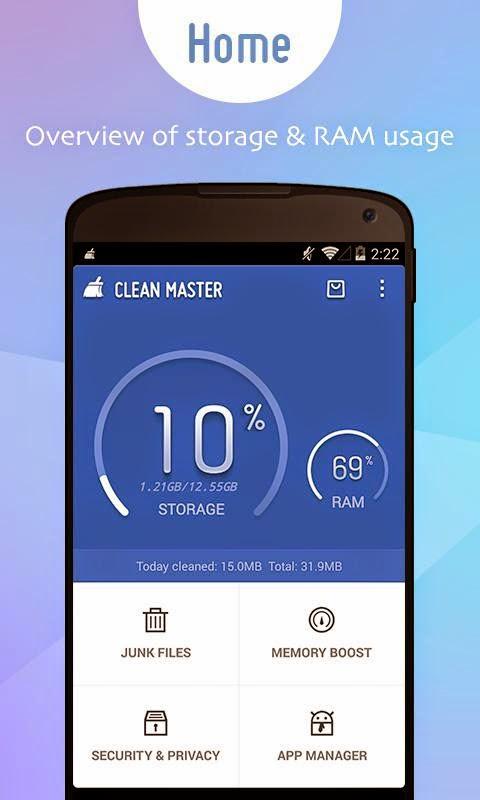 Aplikasi Pembersih File Sampah di Ponsel Android
