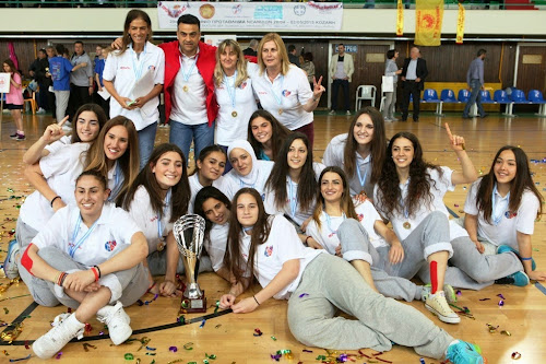 MVP στην Κοζάνη η Χριστινάκη στην κορυφαία πεντάδα Κήτσιου και Φασούλα