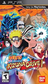Naruto Shippūden: Kizuna Drive PSP GAME