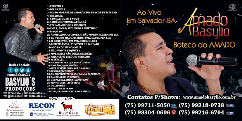BAIXE JÁ O CD AMADO BASYLIO, BOTECO DO AMADO