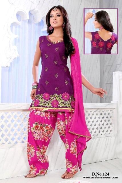 Latest Patiala Salwar Suit