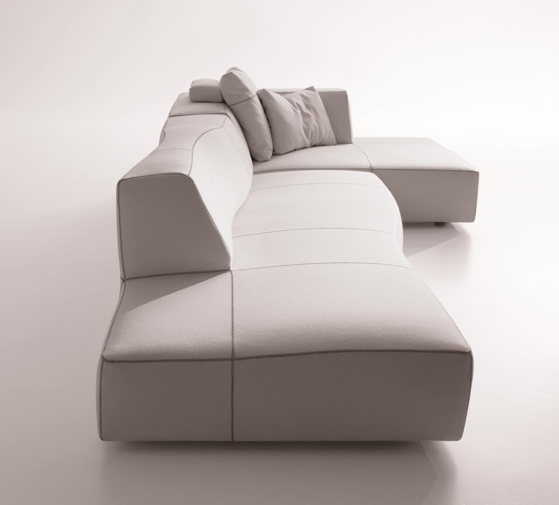 Bend Sofa By B B Italia Designer Furniture Fitted Furniture Outdoor Furniture Office