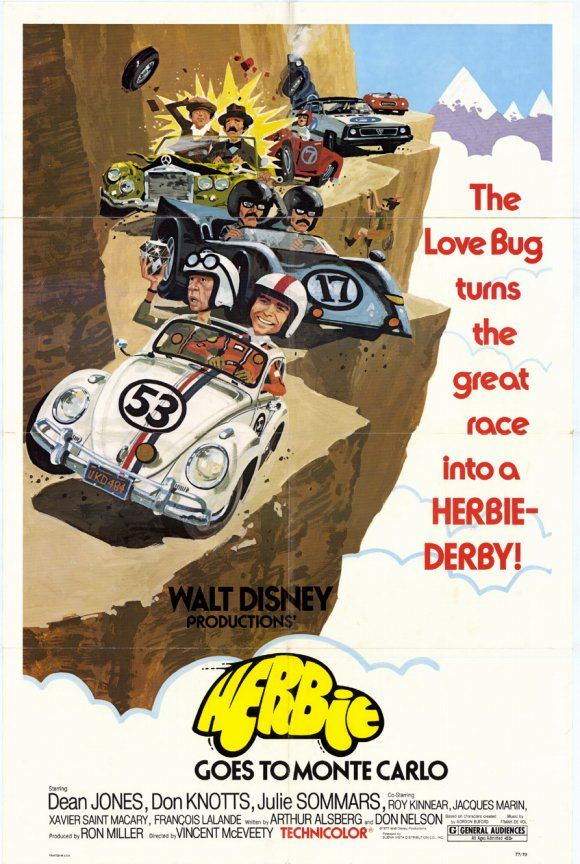let 39 s see herbie goes to monte carlo. Black Bedroom Furniture Sets. Home Design Ideas