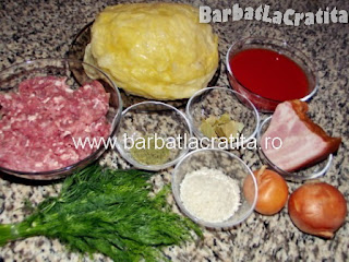 Sarmale de varza cu carne ingrediente reteta