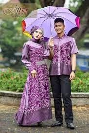 Model Baju Kondangan Couple Pasangan keluarga 2015