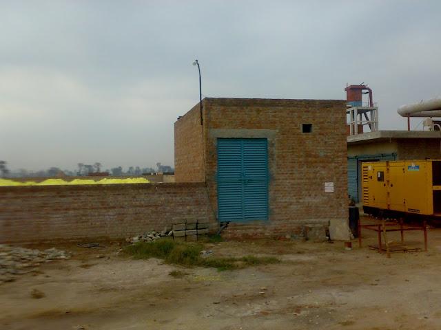 Sulfuric Acid Plant, high voltage transformer room