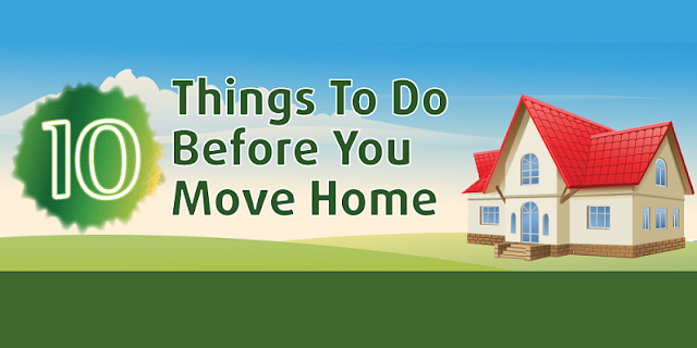 10 things to do before you move home infographic visualistan. Black Bedroom Furniture Sets. Home Design Ideas