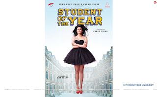 Hot Alia Bhatt Student Of The Year WideScreen HD Wallpaper