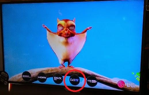 TV digital LG yang sudah menggunakan tuner DVB-T2