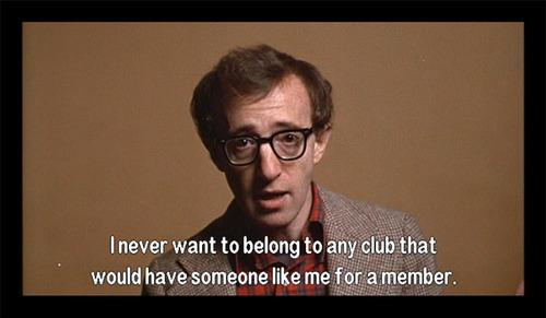 Waterfall Road Woody Allen Existentialist In New York