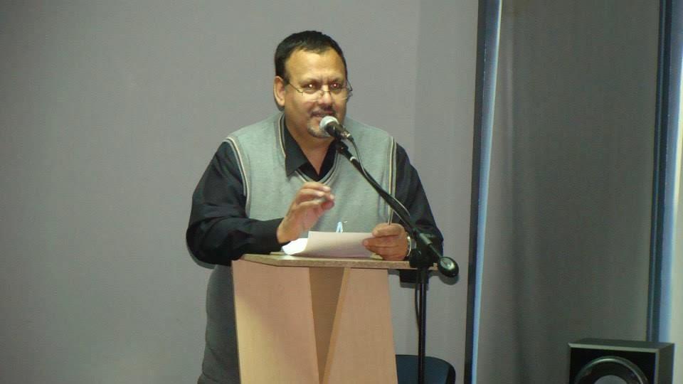 Prof. Luis Vega Vergara. Coordinador y Gestor del Encuentro.