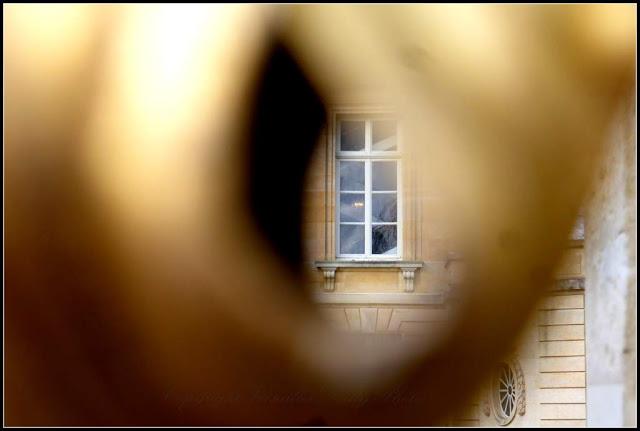 Golden gate Petit Trianon Versailles