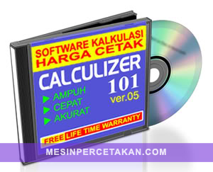 Software Kalkulasi Harga Cetak