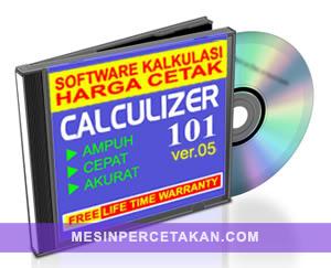 SOFTWARE Kalkulasi Harga Cetak