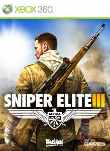 cover xbox360 du jeu Sniper élite 3