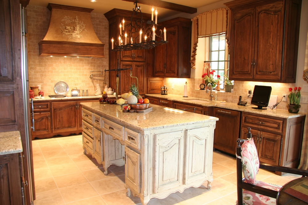 Custom kitchen cabinets dream house experience for Kitchen cabinets