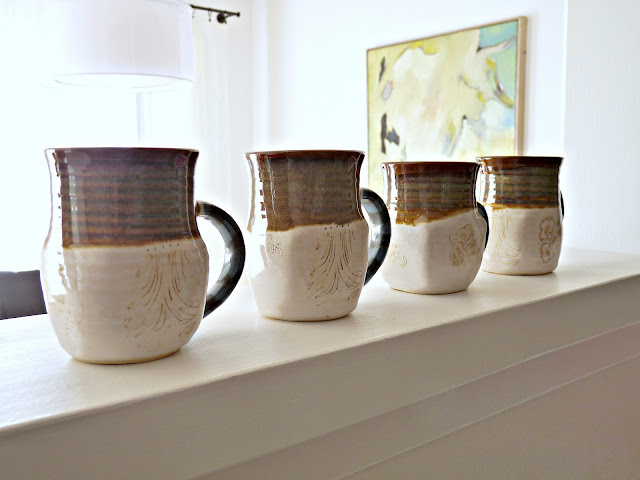 Reed Weir Pottery Mugs