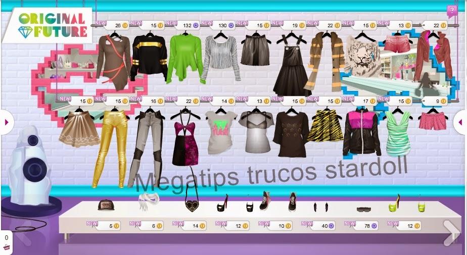 nueva ropa en original future   trucos stardoll megatips