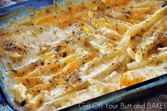 Riches to Rags* by Dori: Creamy Cheesy Potatoes