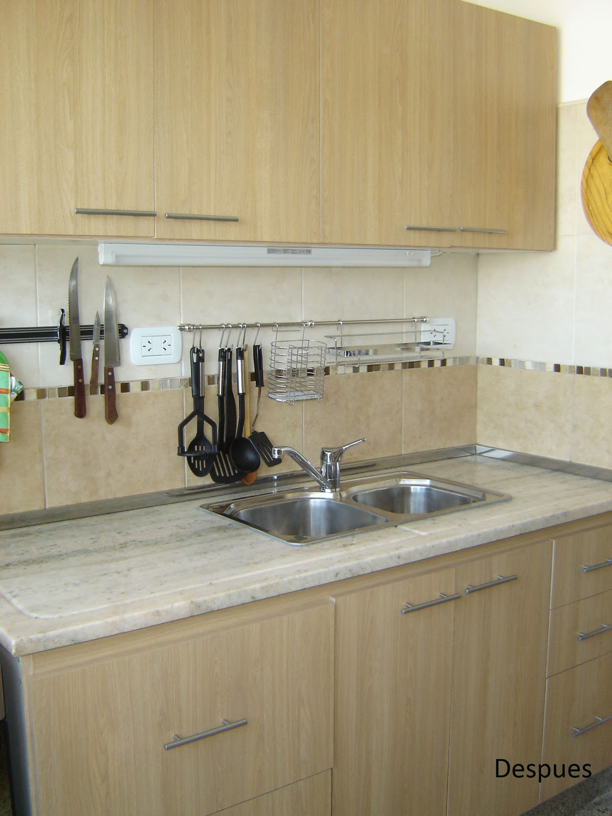 Remodelaciones cocina y lavadero artigas remodelaciones for Mueble de cocina con pileta