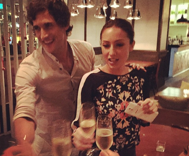 Model-Actress Solenn Heusaff Now Engaged with Argentinian Boyfriend