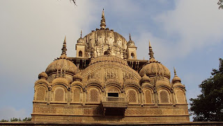 Chhatri of Malhar Rao Holkar at Alampur