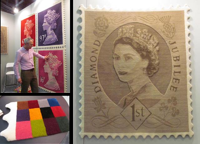 Stamp Rug dec-a-porter: imagination @ home: march 2012