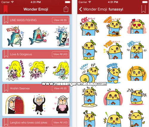 Nuevos emoticones para compartir con Wonder Emoji for WhatsApp