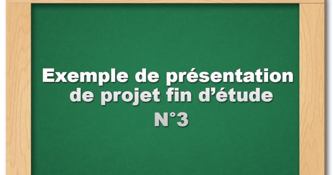 pfe   exemple de pr u00e9sentation powerpoint n u00b03