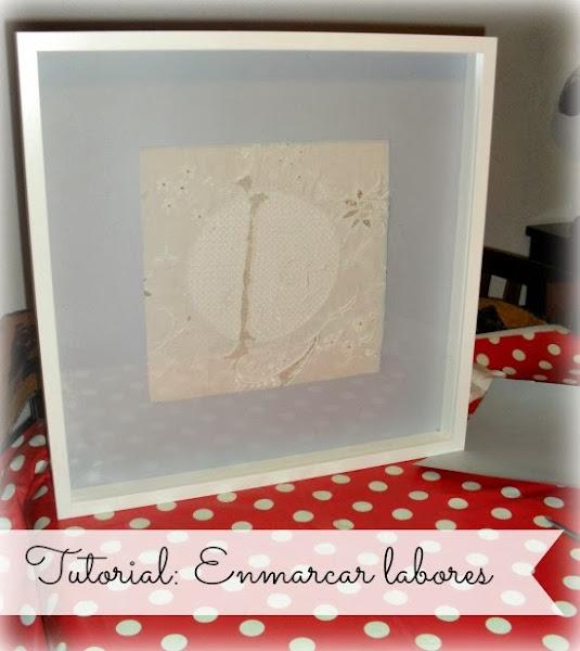 Como enmarcar cuadros aprender manualidades es - Enmarcar cuadros en casa ...