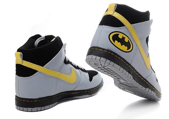 batman nikes dunk high tops shoes for men