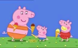 Peppa Pig Very Hot Day