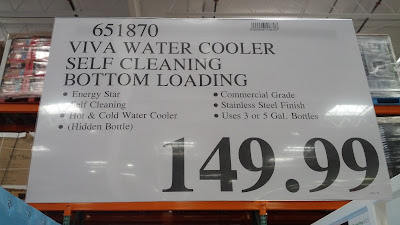 Viva Self Cleaning Water Cooler features auto cleaning
