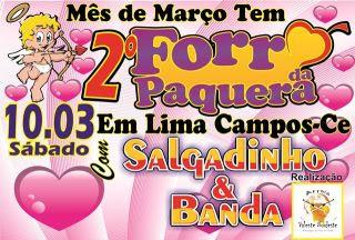 2º FORRÓ DA PAQUERA