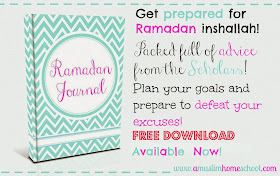 Printable Ramadan Journal
