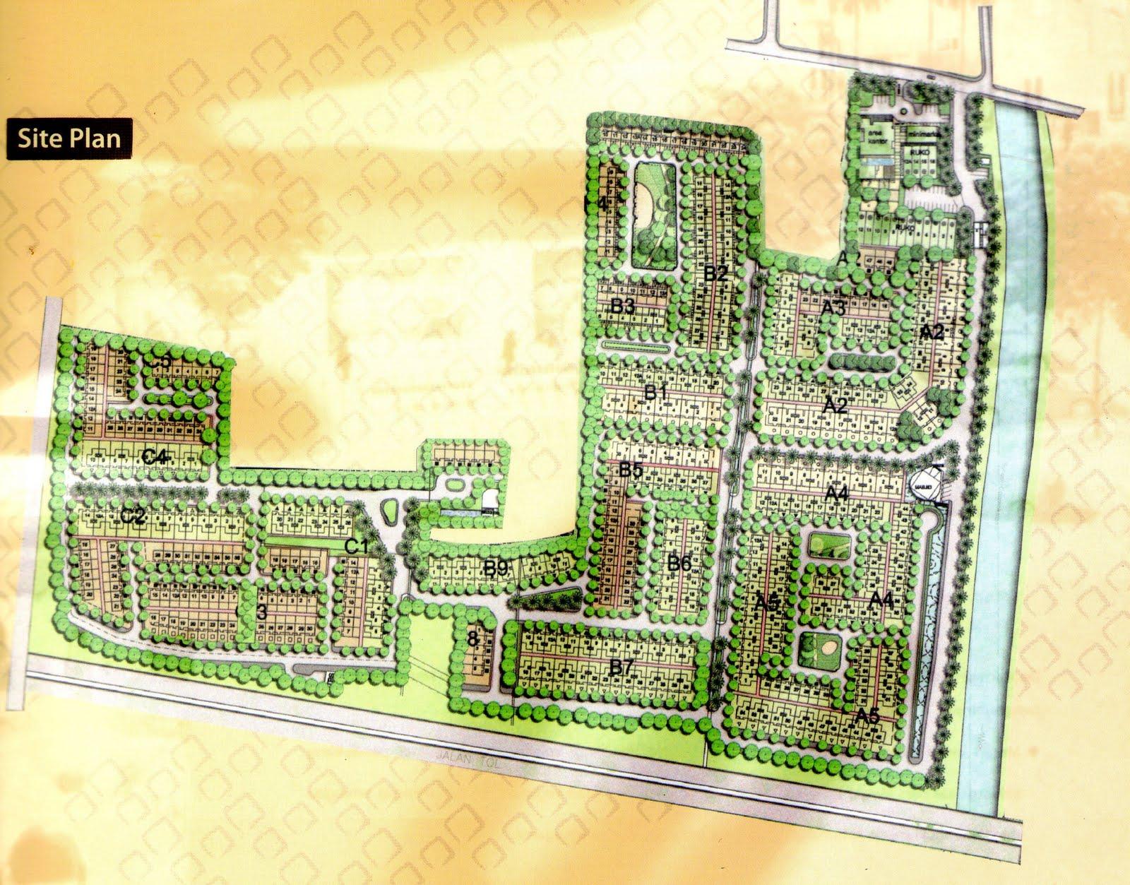Design Site Plan Perumahan