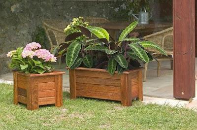 Arte y jardiner a el jard n en macetas for Jardines pequenos horizontales