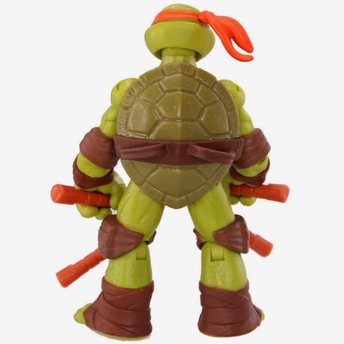 TOYS - LAS TORTUGAS NINJA - Muñeco de Michelangelo  Juguete Oficial | Playmates Toys | Teenage Mutant Ninja Turtles  Figura, Muñeco de acción | A partir de 4 años