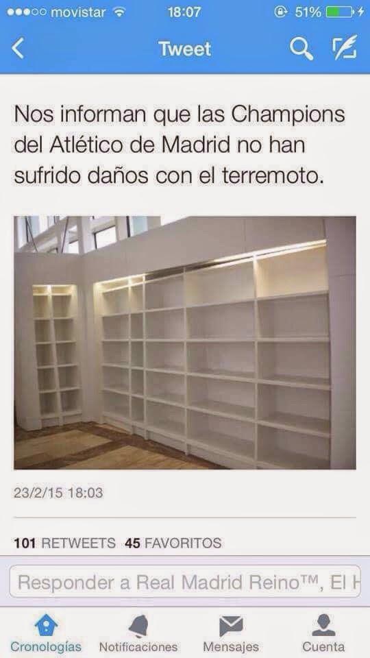 Memes Terremoto Madrid 2015