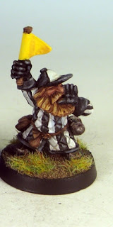 Blood Bowl, Dwarf, judge, painted