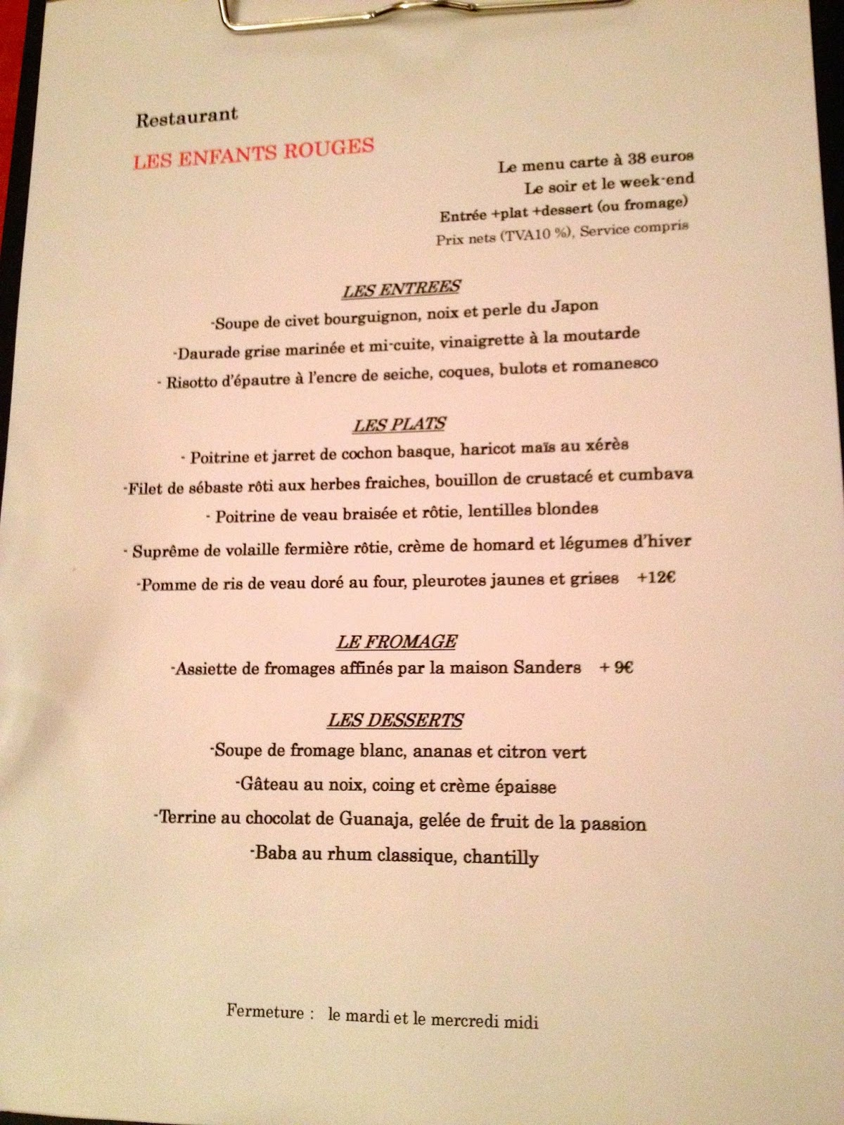 Not drinking poison in paris managing expectations les for H kitchen paris menu