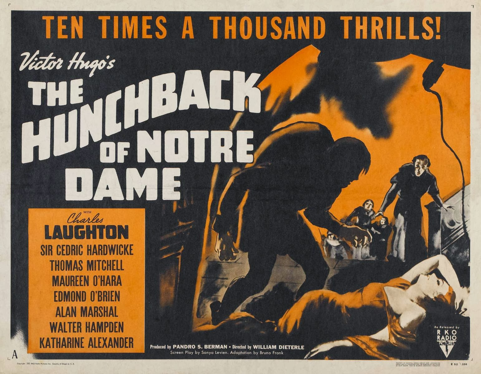 a film analysis of the hunchback of notre dame But there's no doubt that victor hugo's notre dame de paris wasn't exactly a likely subject for a disney movie as in matter of fact, it was a risk for them as in matter of fact, it was a risk for them.