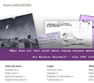 Desclasificación de archivos OVNI, Inlgaterra - junio 2013