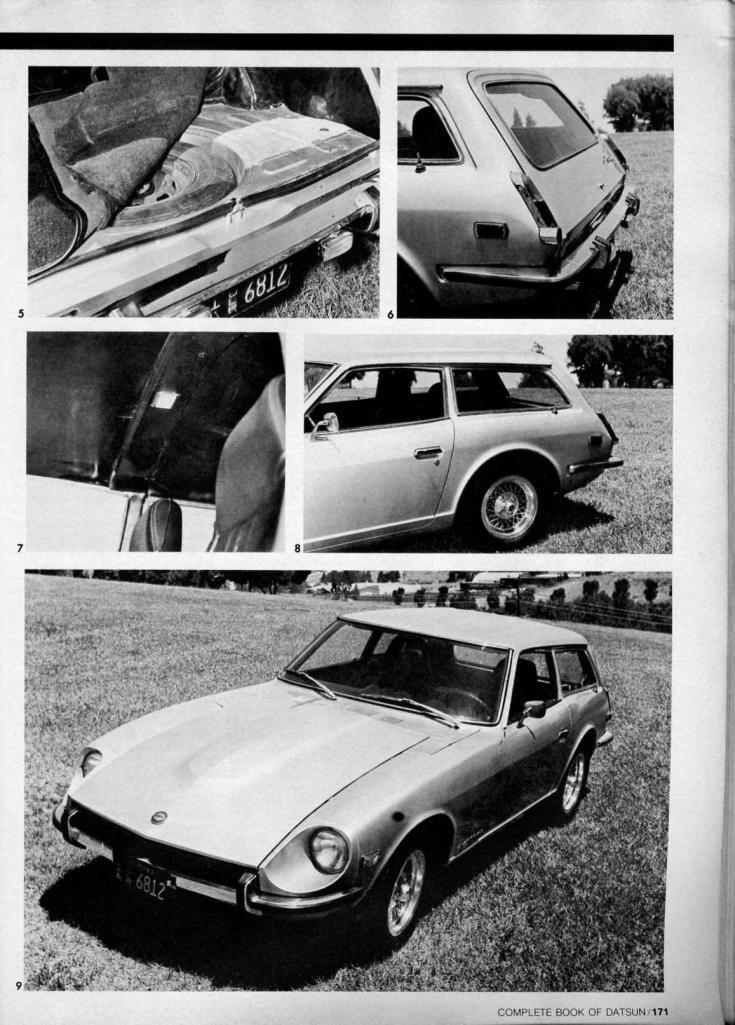 ステーションワゴン , ダットサン , Cider-Z, Datsun 240Z, Nissan Fairlady Z S30, station wagon, kombi, tuning, zdjęcia, nostalgic, old, classic, stary japoński samochód, motoryzacja z Japonii