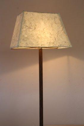 Ecometamorfosi 10 l mpara de pie - Como hacer una lampara de pie artesanal ...