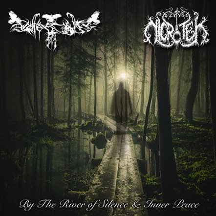 By the River of Silence & Inner Peace, Nicrotek One Man Black Metal Band from Surabaya Indonesia, Indonesian One Man Black Metal